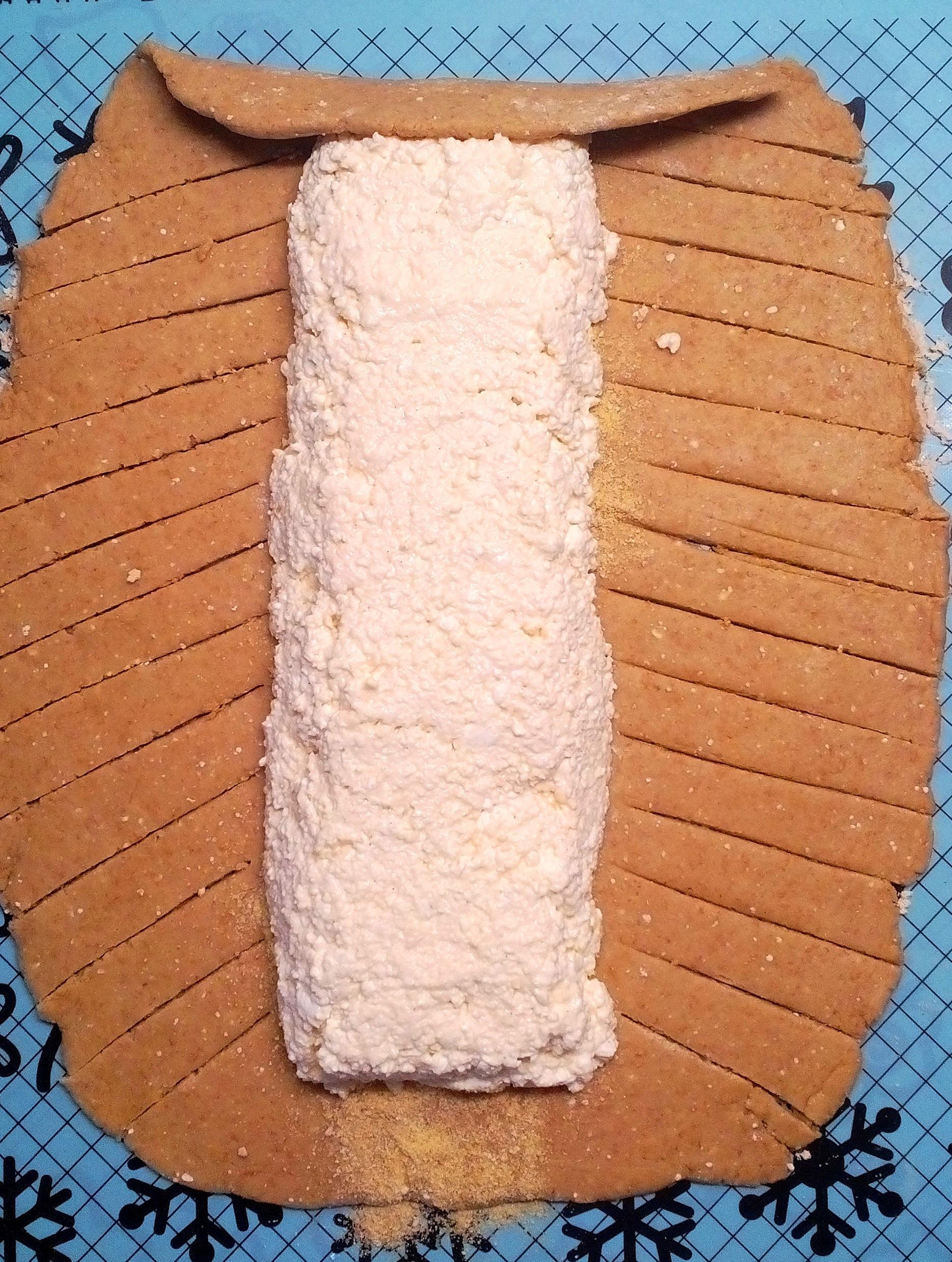 Diétás túrós rétes készítése Dia Wellness CH Mínusz lisztből