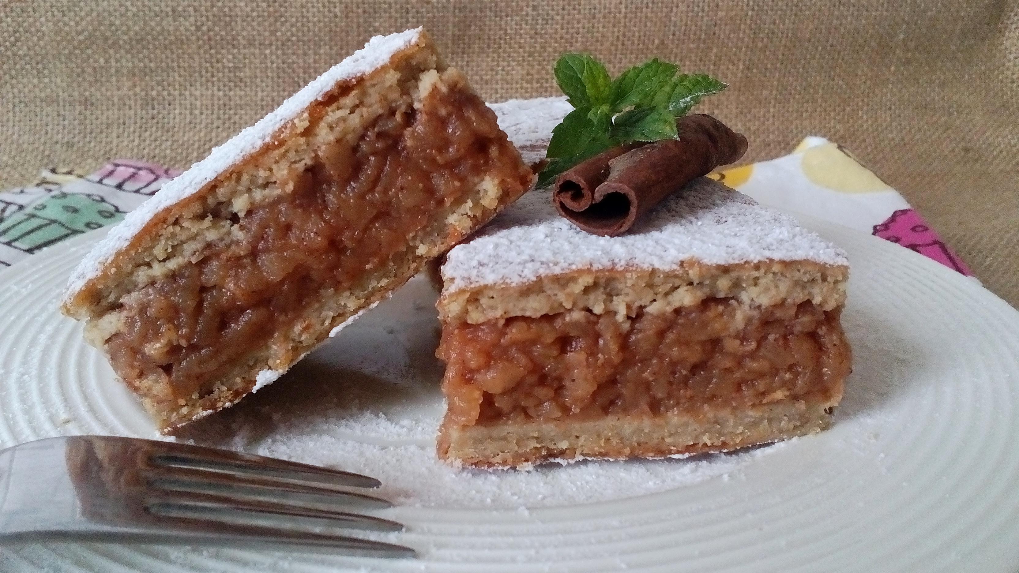 Szénhidrátcsökkentett almás pite recept Dia Wellness CH Mínusz lisztből