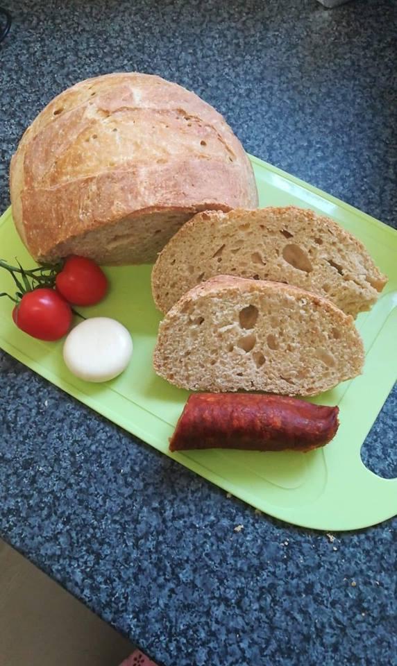 Szénhidrátcsökkentett kenyér házilag