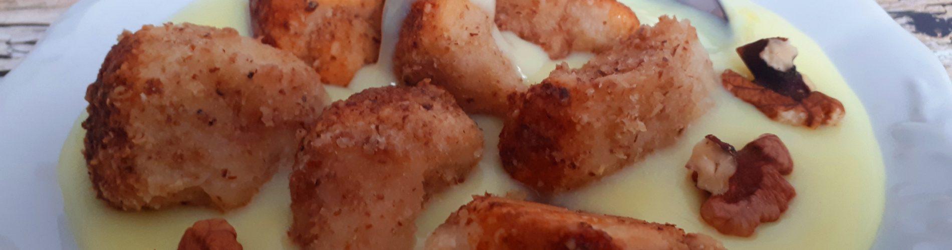 Diétás aranygaluska recept