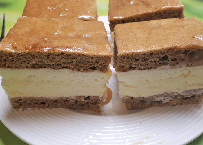 Diétás krémes szénhidrátcsökkentett lisztből, cukormentesen
